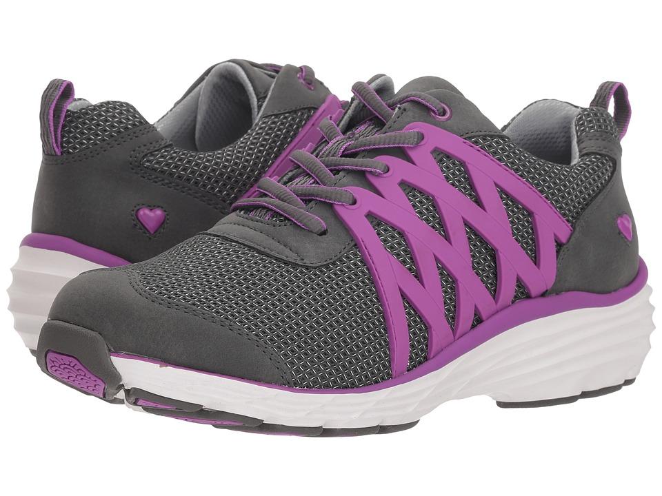 Nurse Mates Brin (Grey/Purple) Women's Shoes