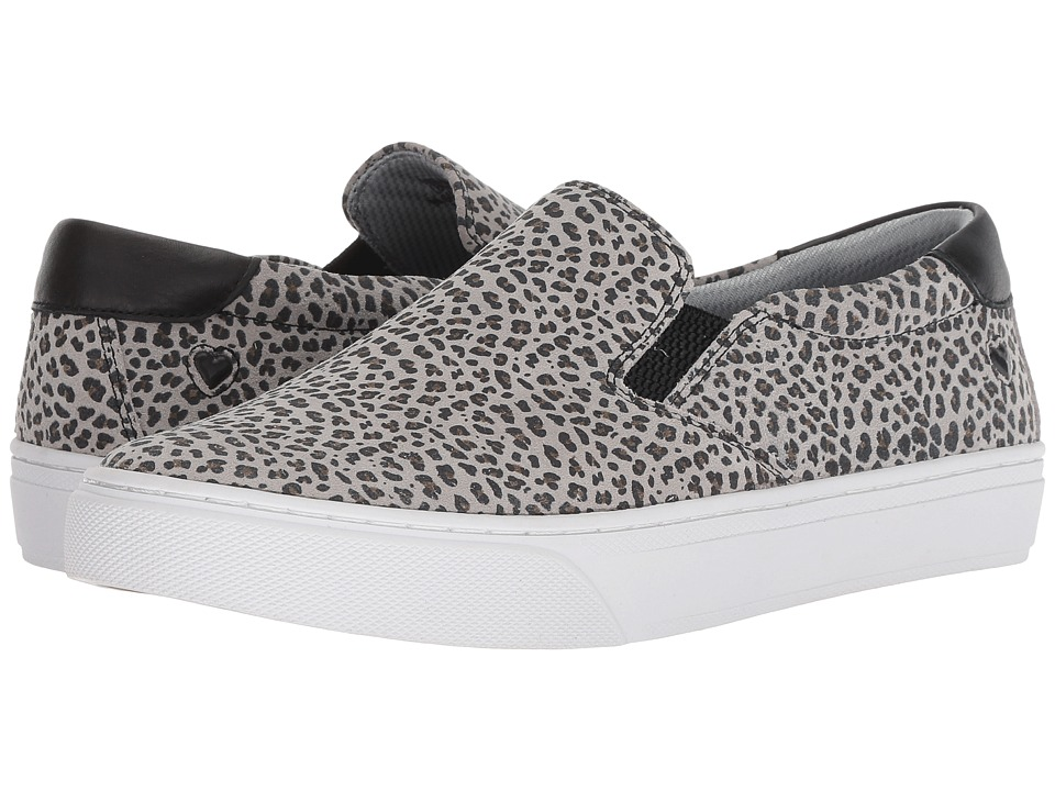 Nurse Mates Faxon (Gray Leopard) Slip-On Shoes