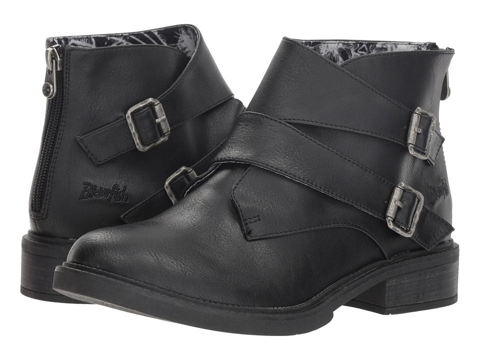 Blowfish Verde (Black Alamo PU) Women's Pull-on Boots