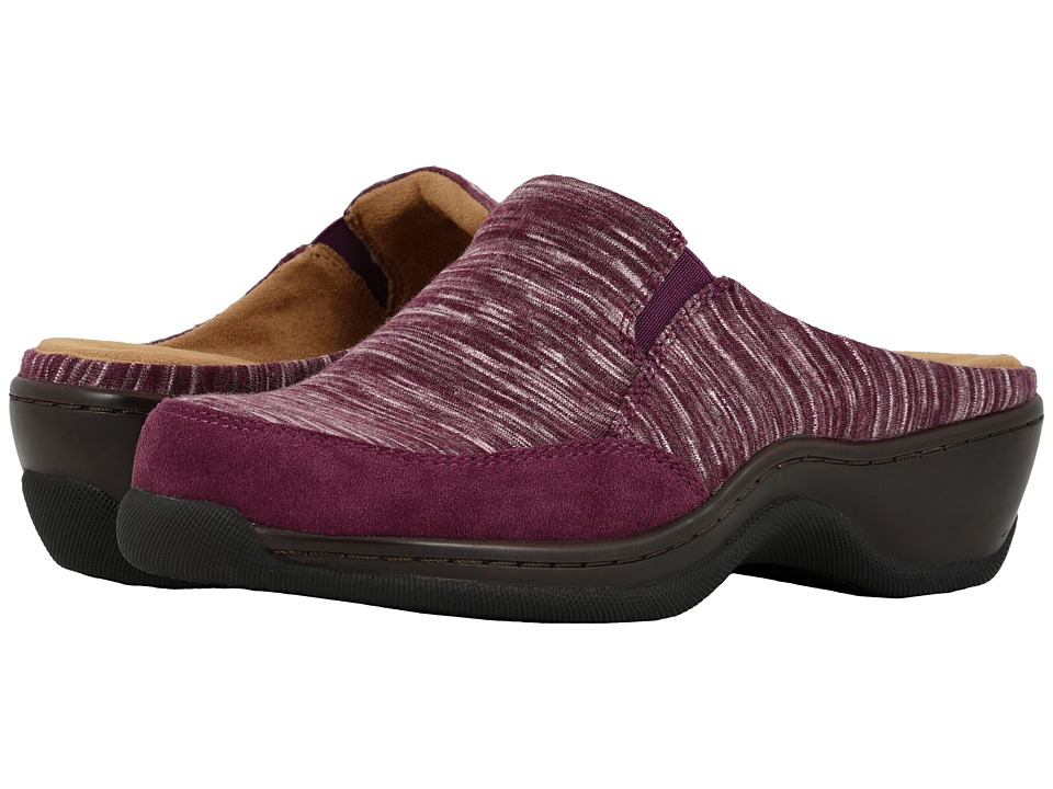 SoftWalk Alcon (Burgundy Multi) Slip-On Shoes