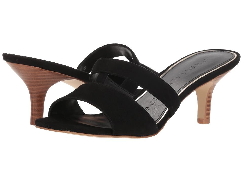 Athena Alexander - Bozrah (Black Suede) Womens Sandals