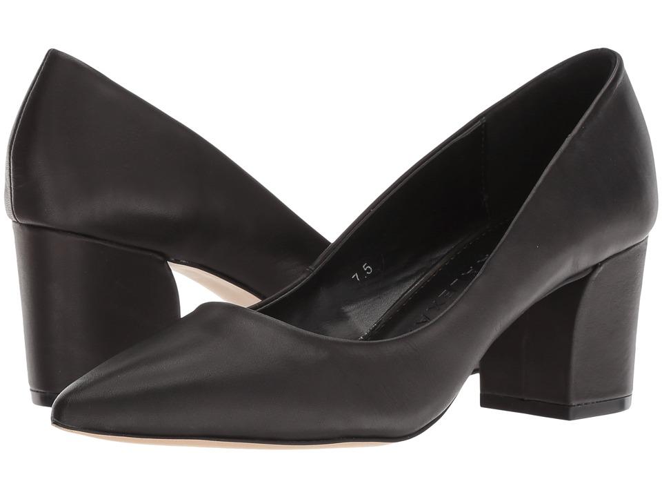 Athena Alexander - Haven (Black Leather) High Heels