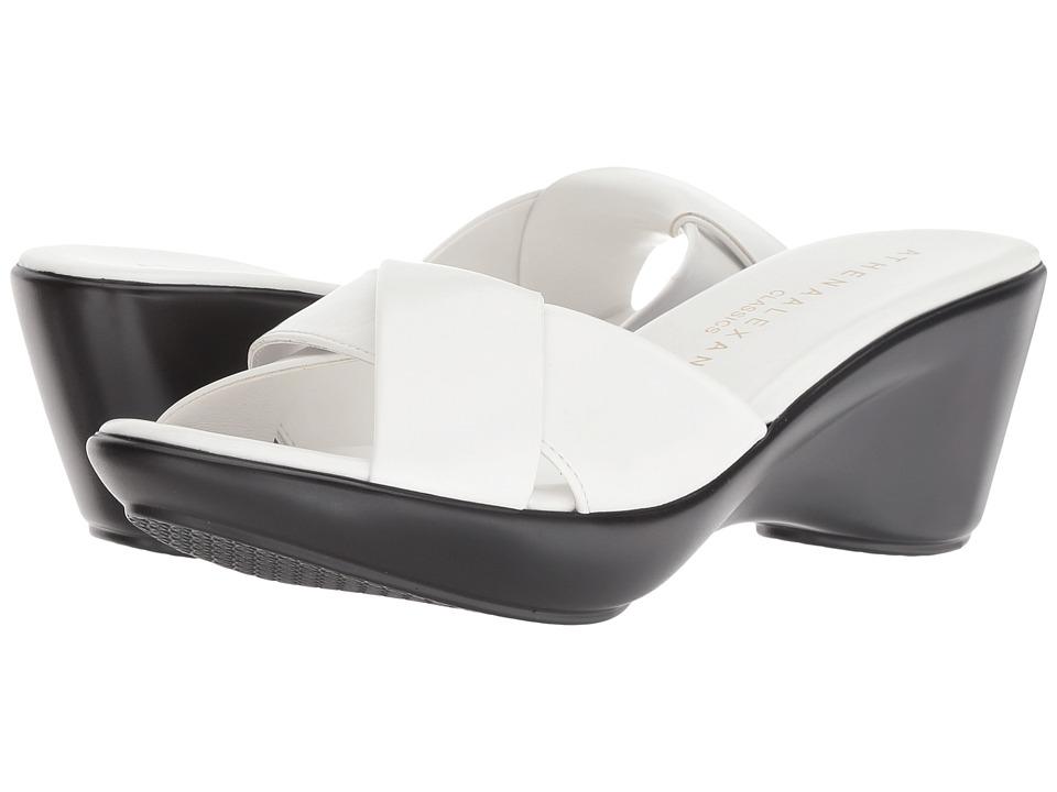Athena Alexander Orlando (White) Sandals