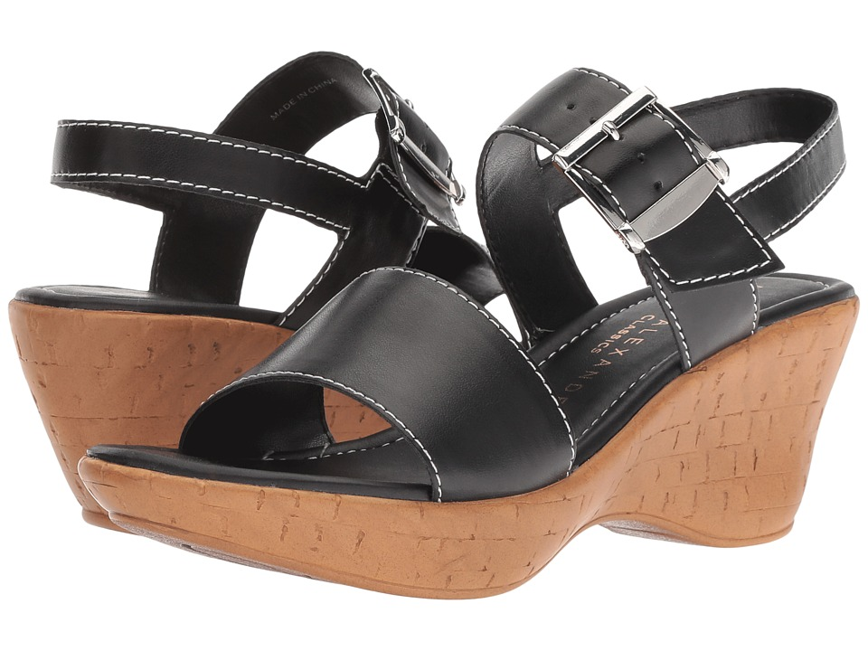 Athena Alexander Shelter (Black) Sandals
