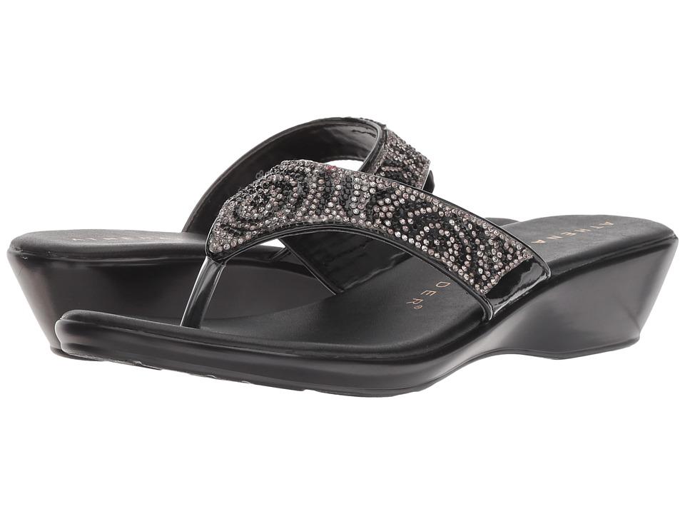 Athena Alexander Shady (Black) Sandals
