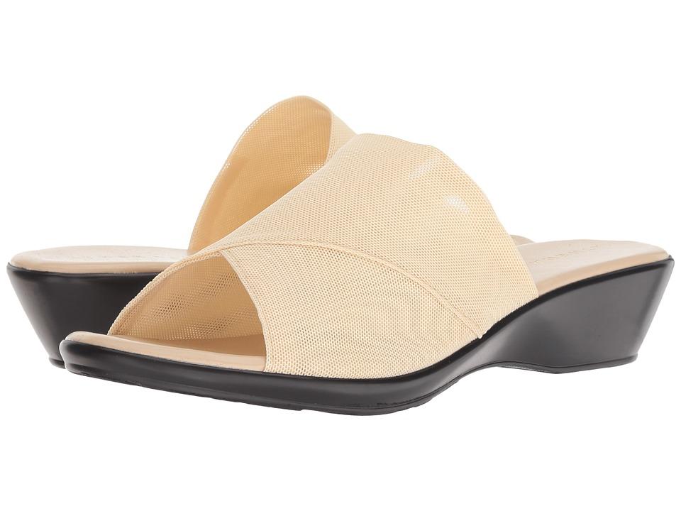 Athena Alexander Viola (Beige Stretch) Sandals