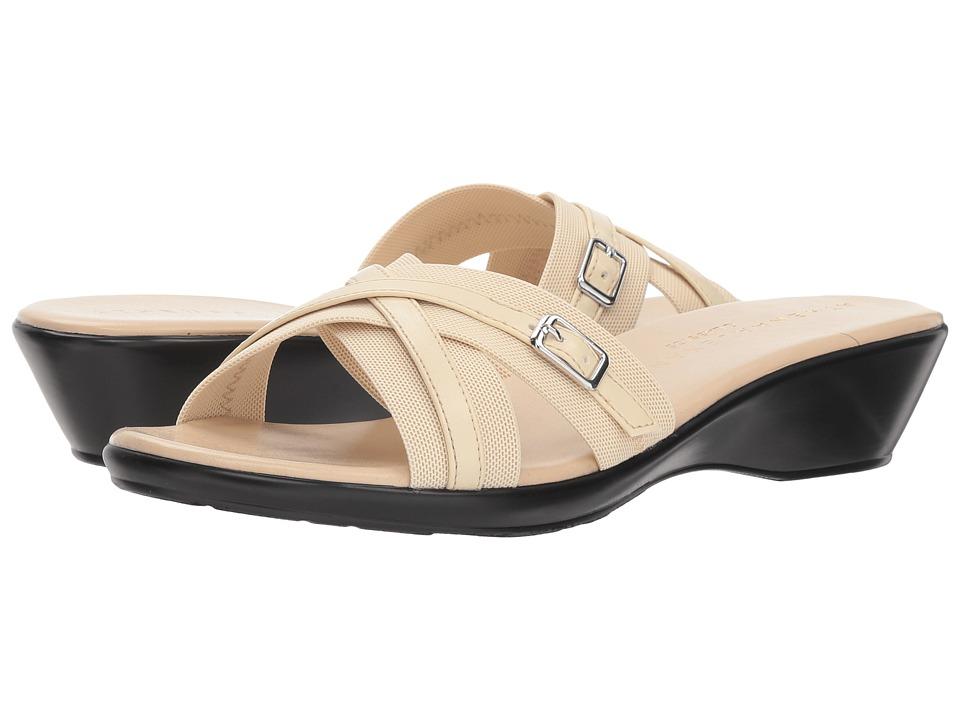Athena Alexander Bindy (Beige Stretch) Sandals