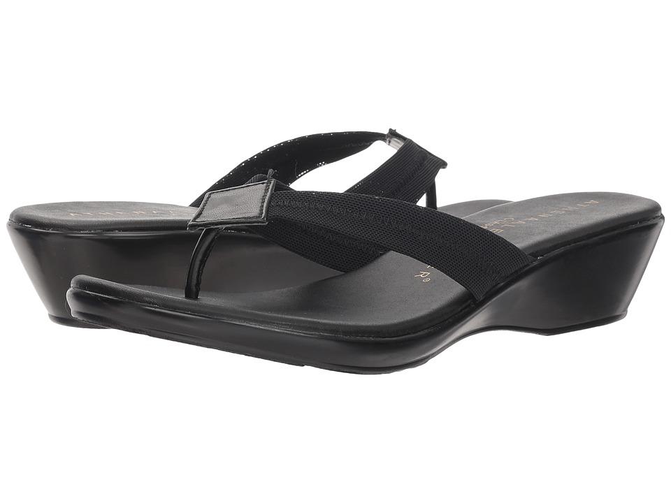 Athena Alexander Ying (Black Stretch) Sandals