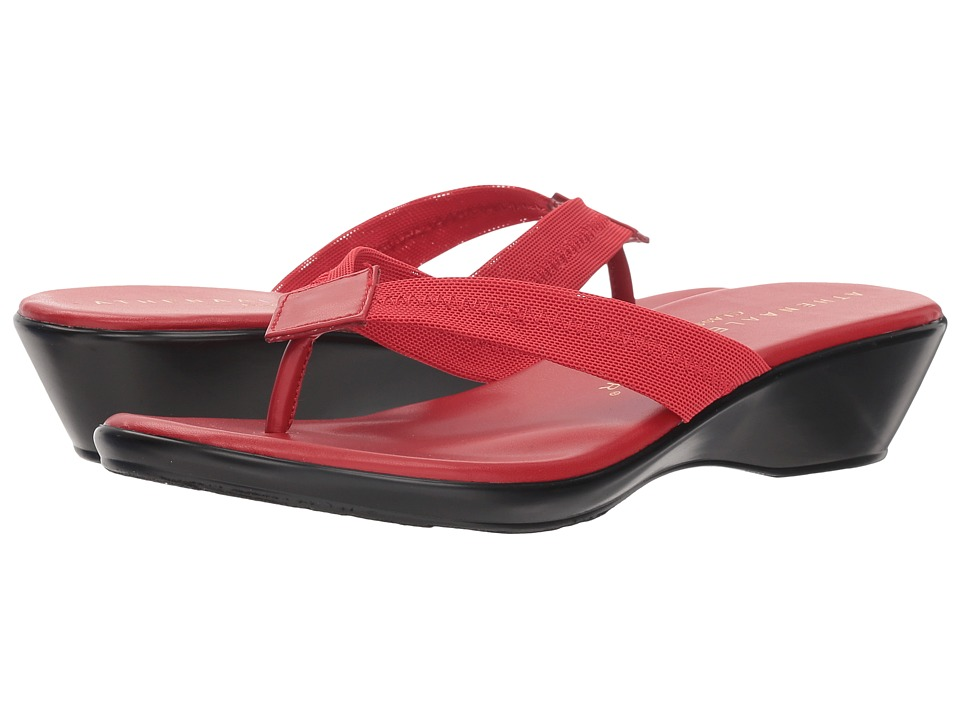 Athena Alexander Ying (Red Stretch) Sandals