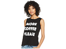 The Original Retro Brand More Coffee Please Cotton Slub Tank