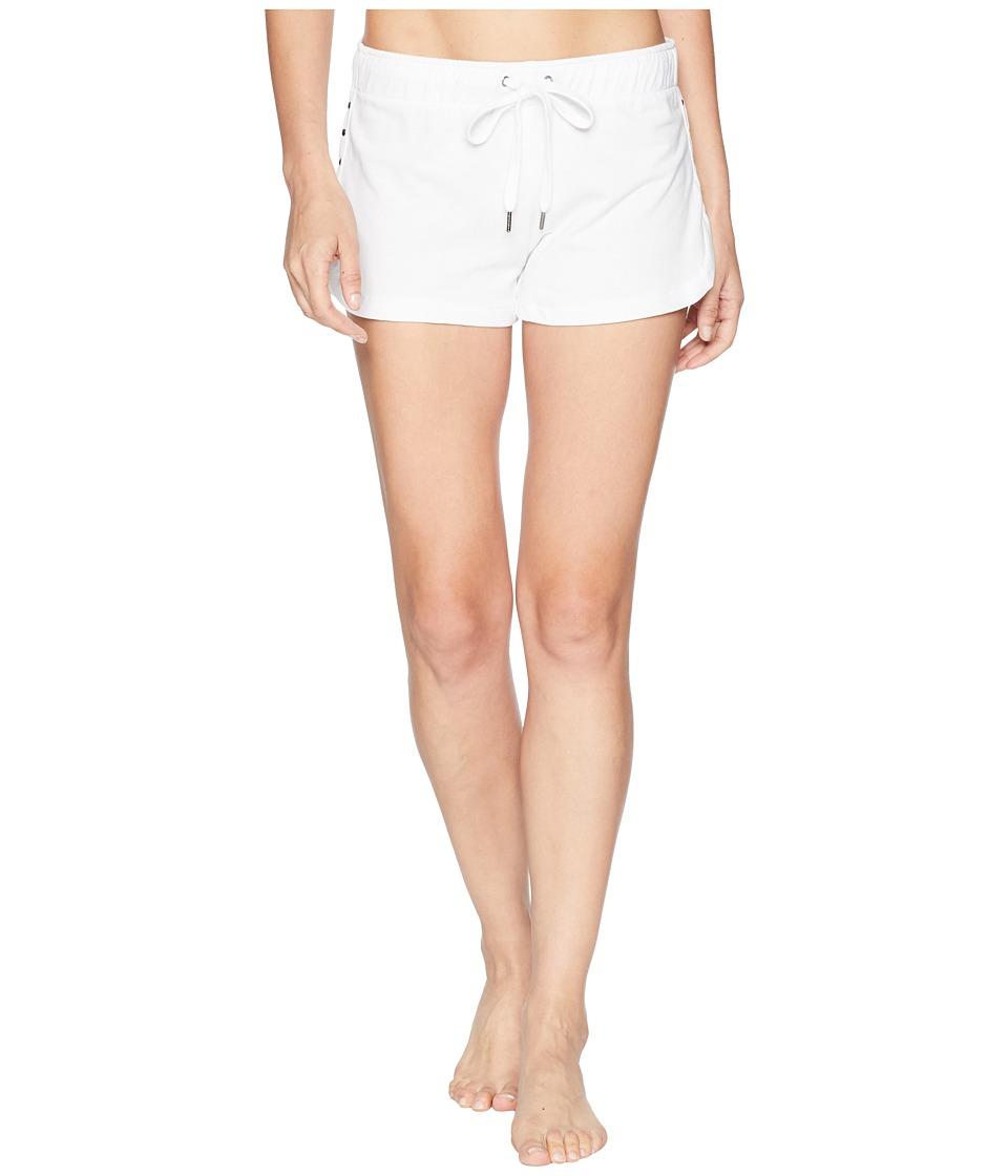 P.J. Salvage - Beach Please Shorts (White) Womens Pajama