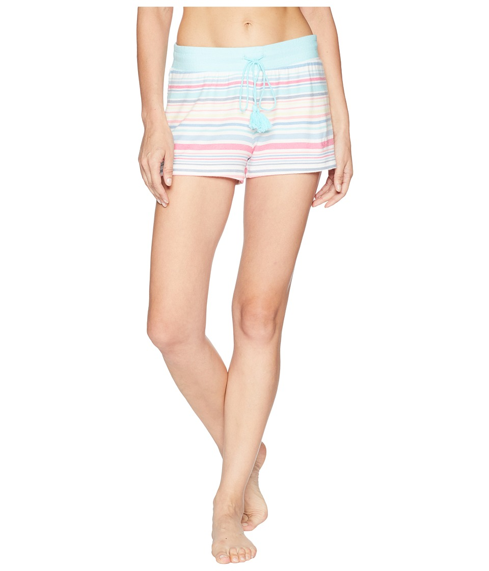 P.J. Salvage - Tropicana Stripped Shorts (Multi) Womens Pajama