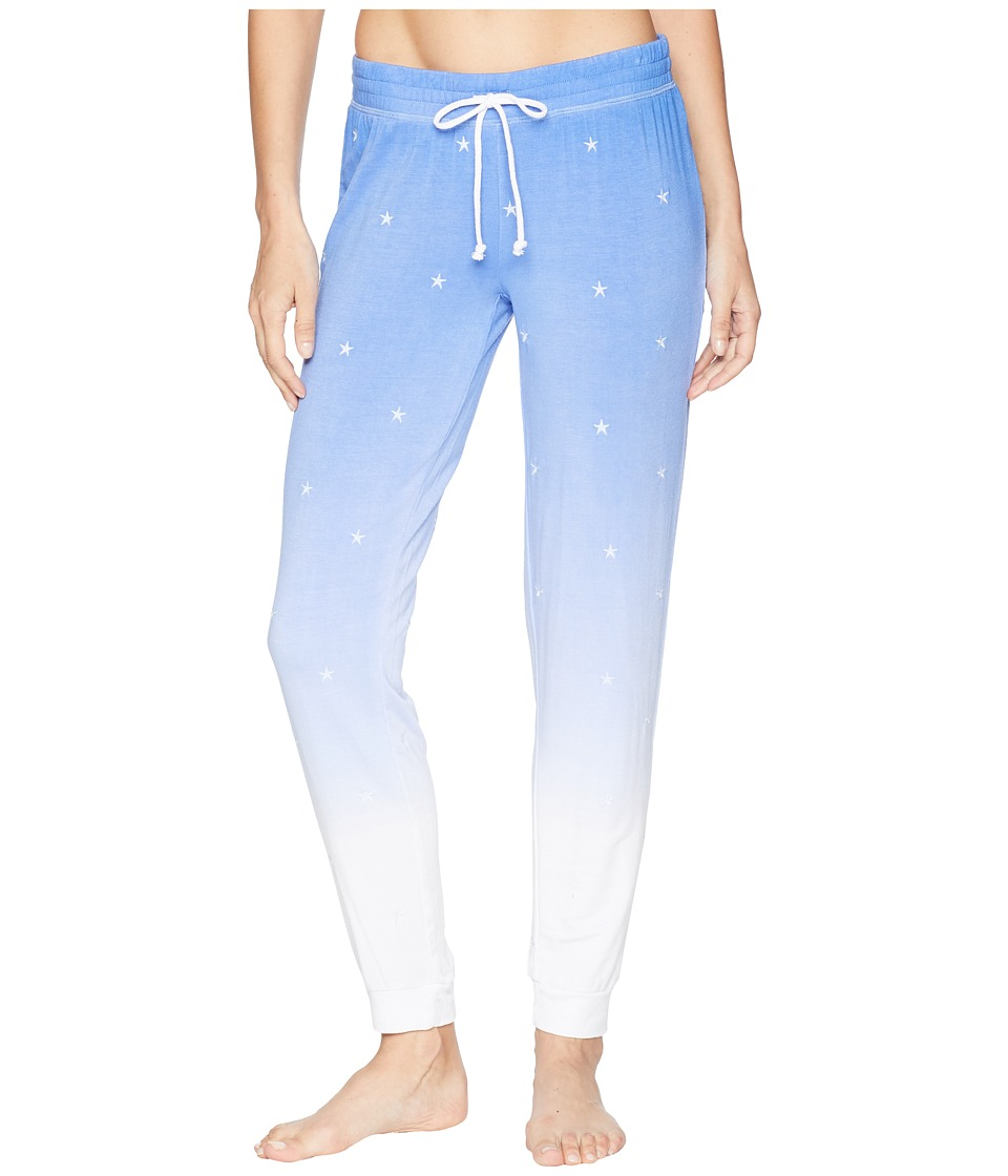 P.J. Salvage - Feelin Joggers (Blue) Womens Pajama