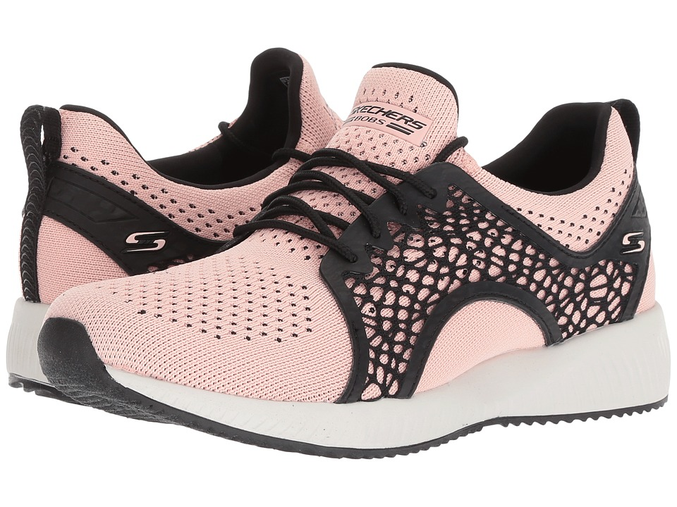 BOBS from SKECHERS Bobs Squad - Electro (Pink/Black) Women's Shoes