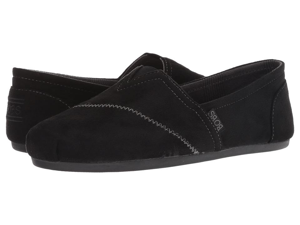BOBS from SKECHERS Bobs Plush - Wonder Love (Black) Slip-On Shoes