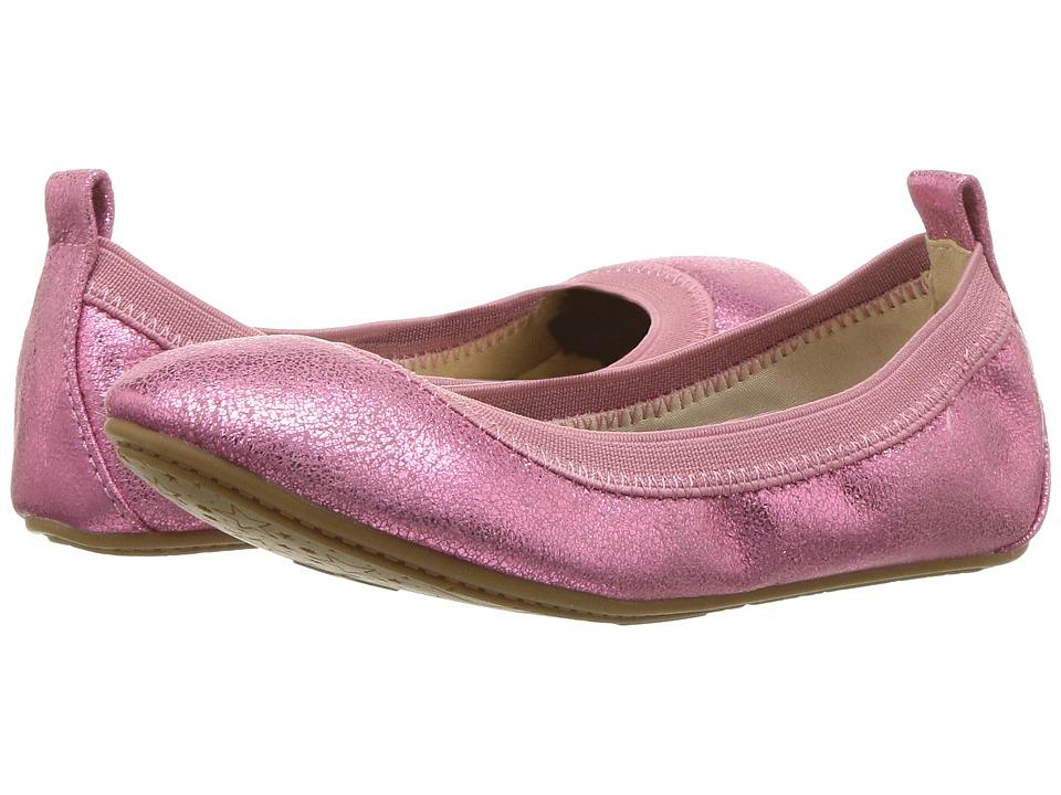Yosi Samra Kids Miss Samara Limited Edition (Toddler/Little Kid/Big Kid) (Pink Metallic Tumbled) Girls Shoes