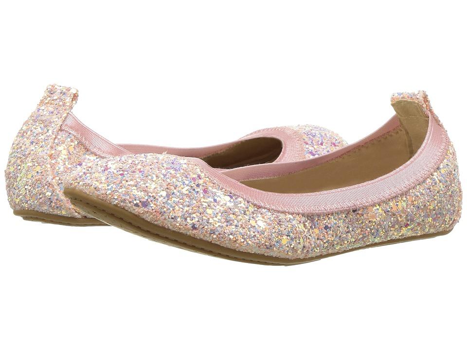 Yosi Samra Kids Miss Samara Limited Edition (Toddler/Little Kid/Big Kid) (White Irridescent Glitter) Girls Shoes