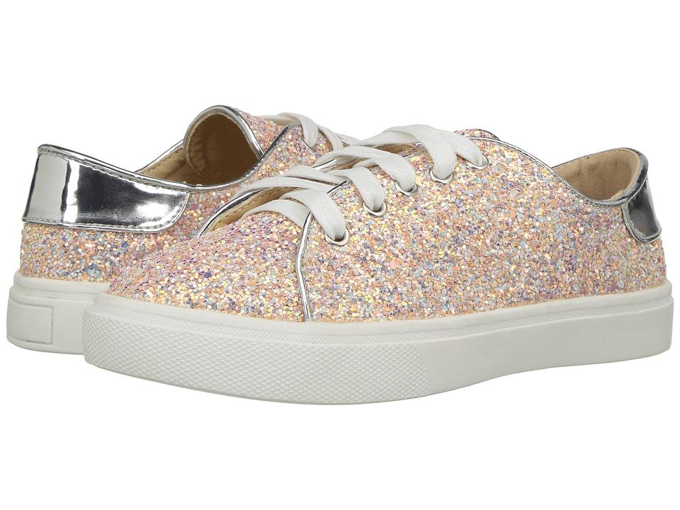 Yosi Samra Kids Miss Bowery (Toddler/Little Kid/Big Kid) (White Irridescent Glitter) Girls Shoes
