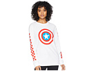Vans Captain Shields Long Sleeve Boyfriend Tee