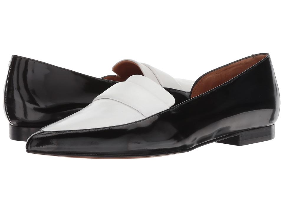 Clergerie Lilou (White Spazzolato) Flats