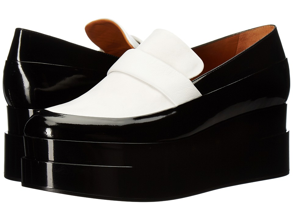 Clergerie Lynn (White Nappa) Slip-On Shoes
