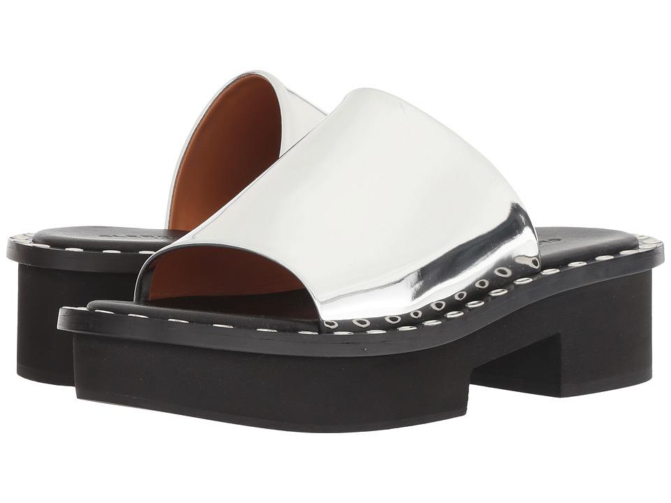 Clergerie Blanca (Silver Specchio) Sandals