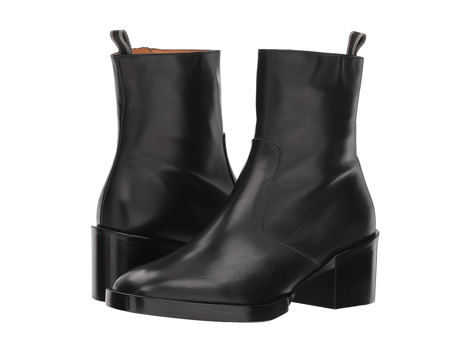 Clergerie Caleb (Black Leather Calf)