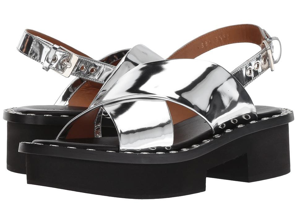 Clergerie Bruna (Silver Specchio) Sandals