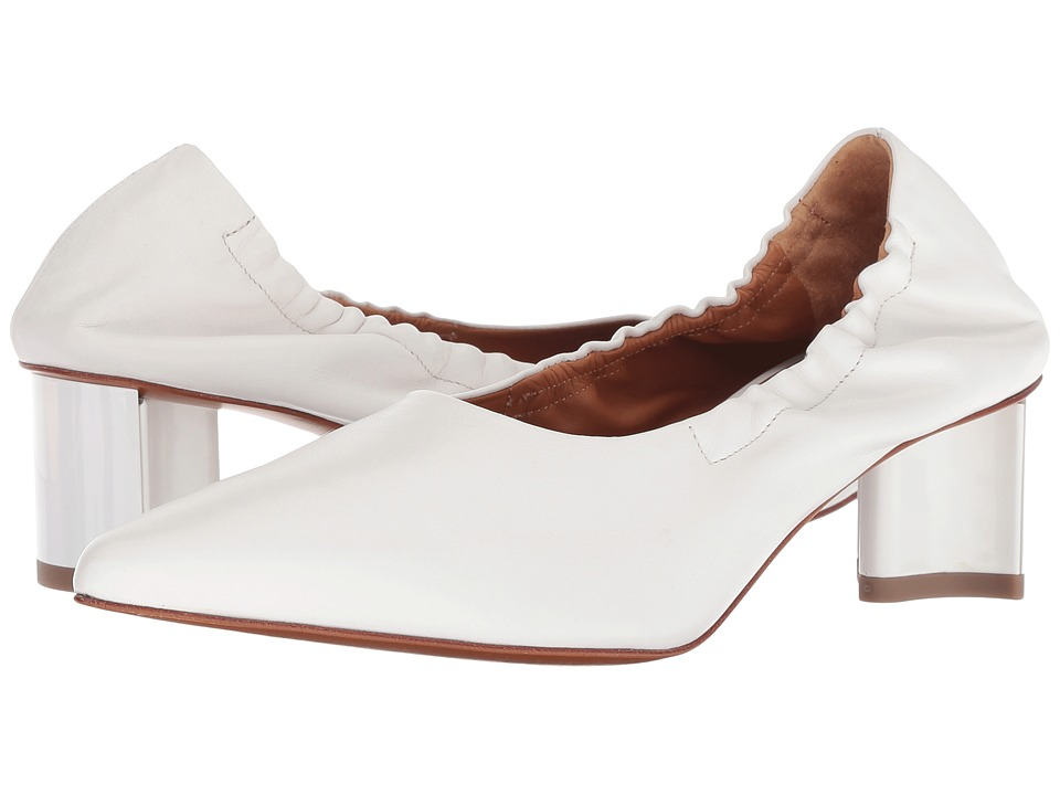 Clergerie Solal (White Nappa) High Heels