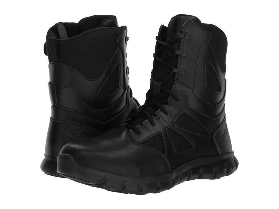 Reebok Work - Sublite Cushion Tactical 8 Boot (Black) Mens Boots