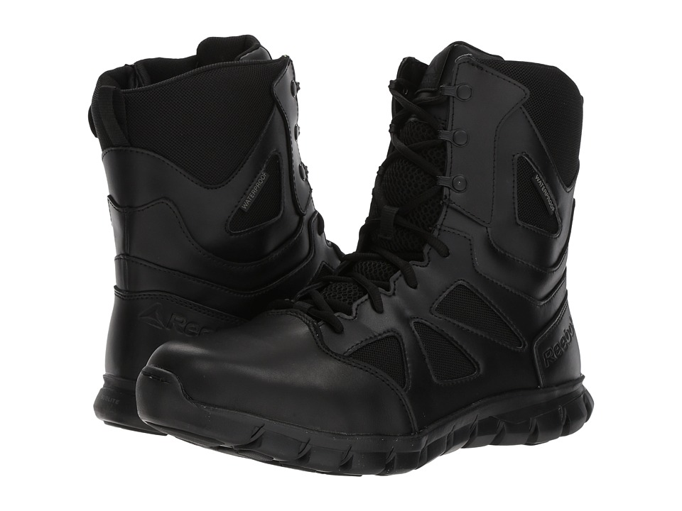 Reebok Work - Sublite Cushion Tactical 8 Boot WP (Black) Mens Boots