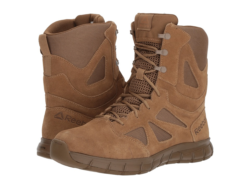Reebok Work - Sublite Cushion Tactical AR670-1 Compliant (Coyote) Mens Boots