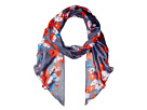 Vince Camuto Textile Flower Painting Scarf