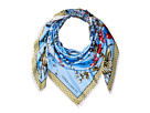 Vince Camuto Wild Flowers Twill Square Scarf