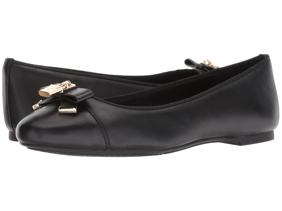 MICHAEL Michael Kors Alice Ballet (Black Nappa) Women's Shoes