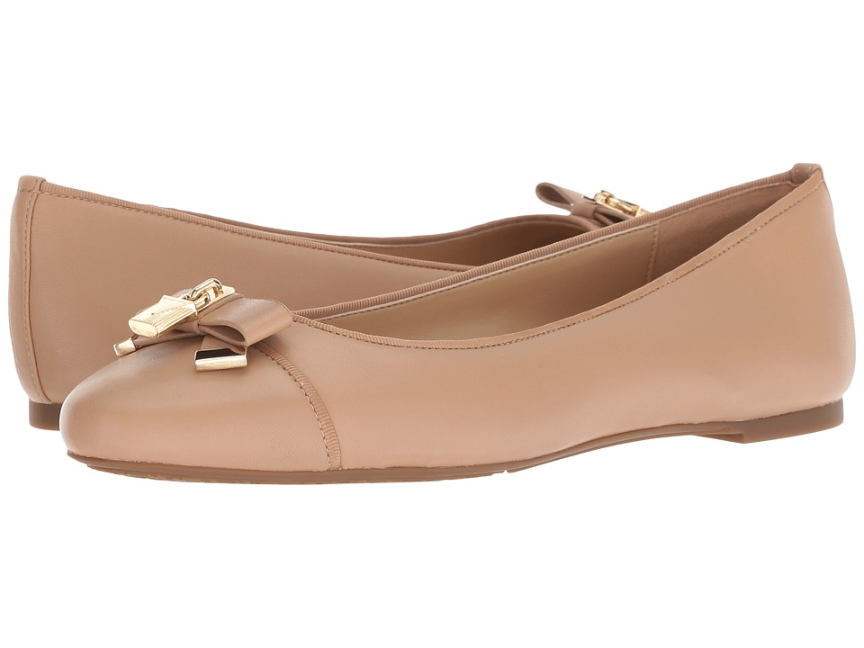 MICHAEL Michael Kors Alice Ballet (Toffee Nappa) Women's Shoes
