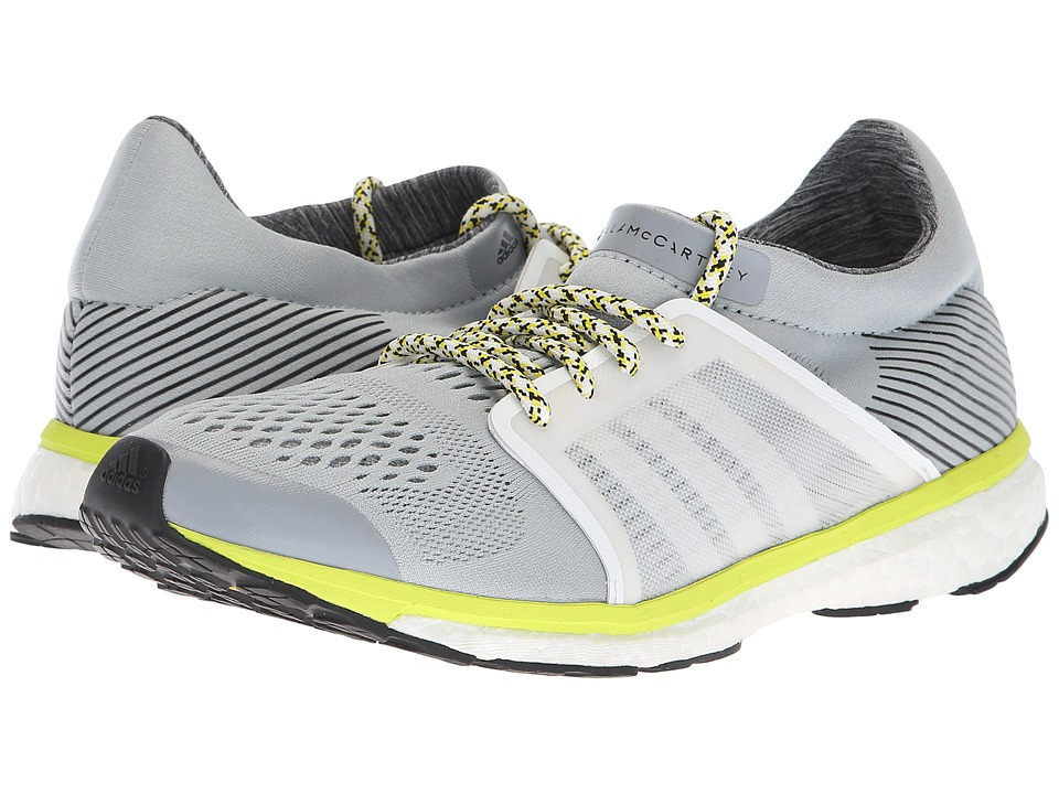 adidas by Stella McCartney Adizero Adios (Eggshell Grey/Footwear White/Core Black) Women's Running Shoes
