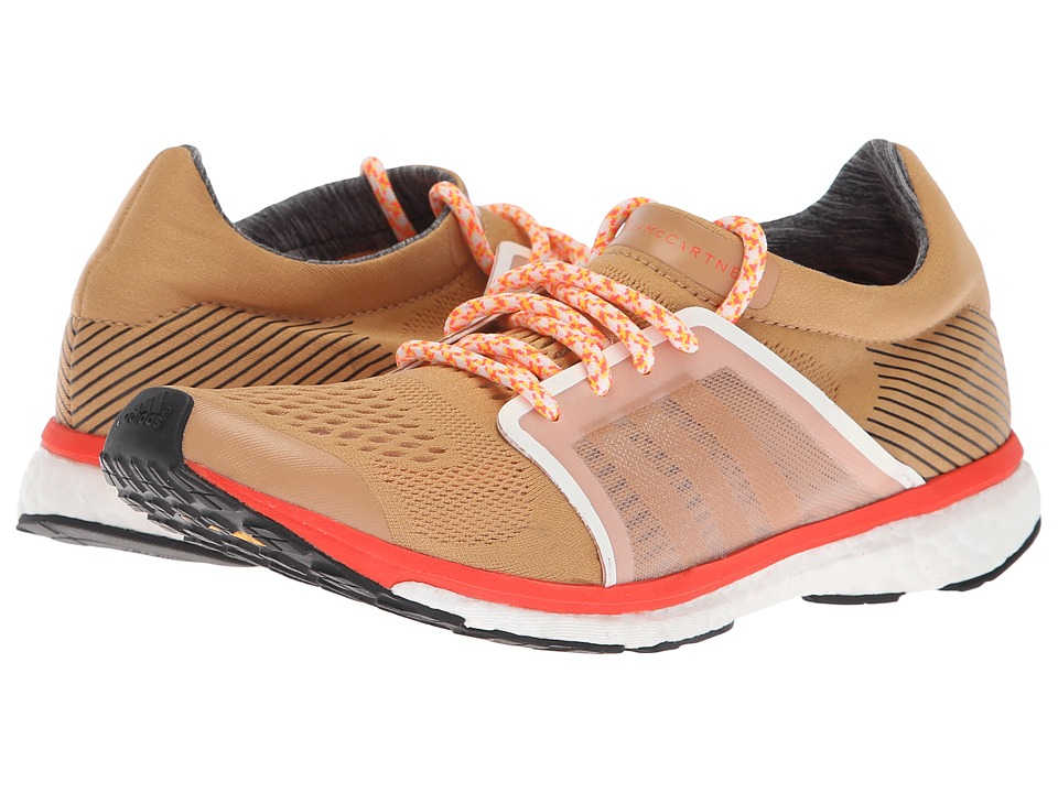 adidas by Stella McCartney Adizero Adios (Cardboard/Soft Powder/Semi Solar Red) Women's Running Shoes