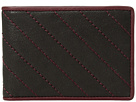 Bosca Napoli Quilted Small Bifold Wallet