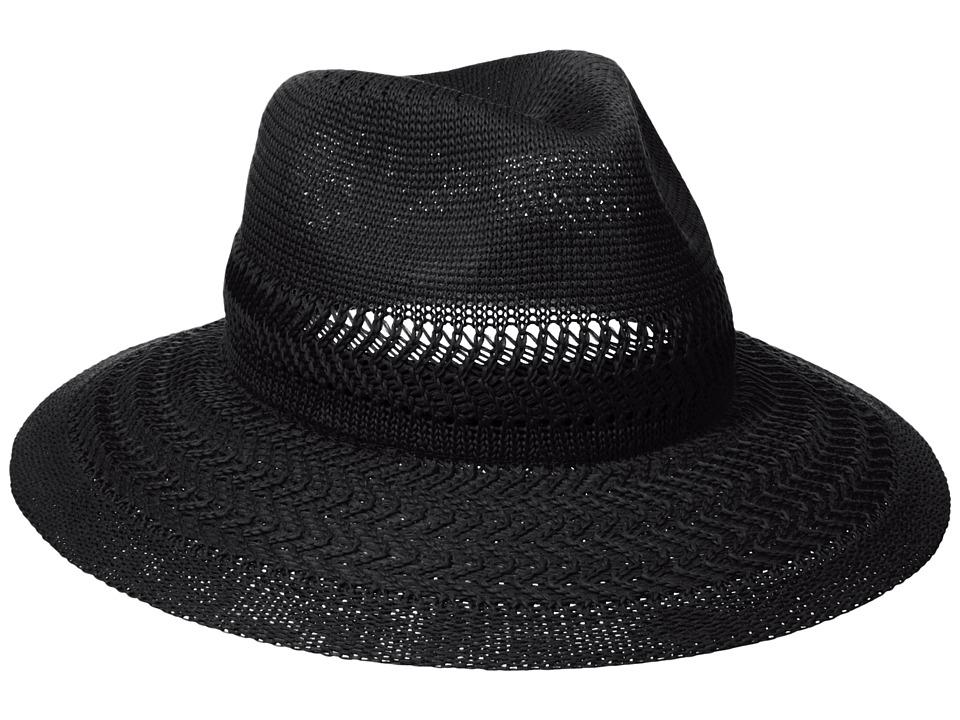 Collection XIIX - Color Expansion Panama Hat (Black) Caps