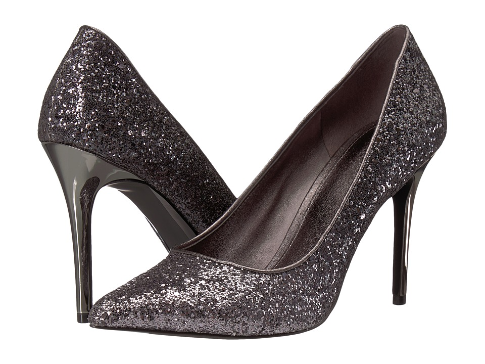 MICHAEL Michael Kors Claire Pump (Gunmetal Degrade Chunky Glitter) Women's Shoes