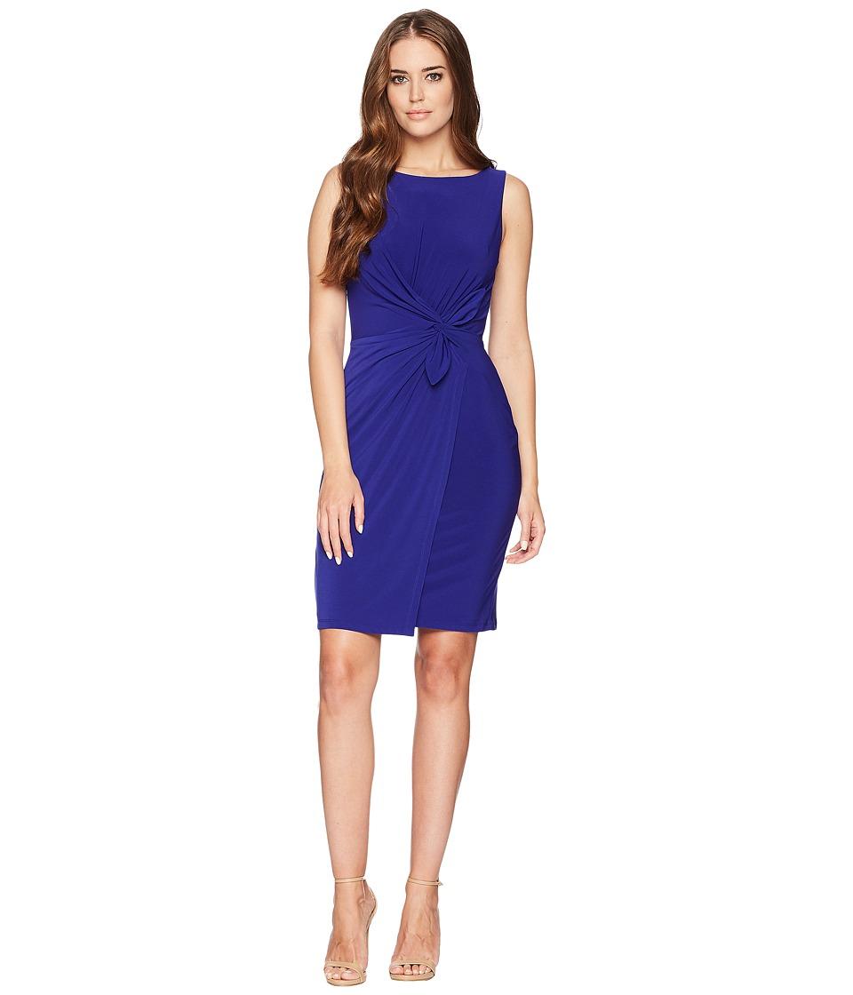 LAUREN Ralph Lauren - 1T Matte Jersey Laila Sleeveless Day Dress (Cliffside Violet) Womens Dress