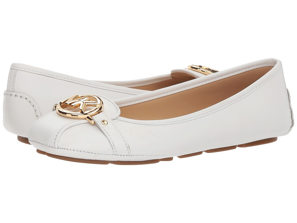 MICHAEL Michael Kors Fulton Moc (Optic White Vachetta) Slip-On Shoes
