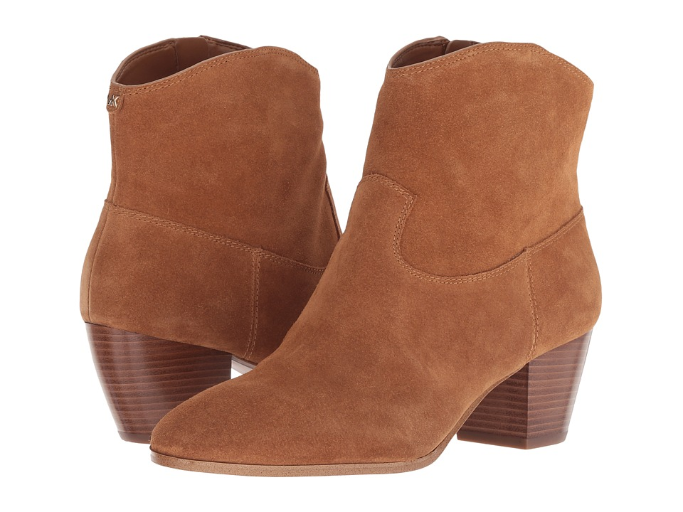 MICHAEL Michael Kors Avery Ankle Boot (Acorn Sport Suede)
