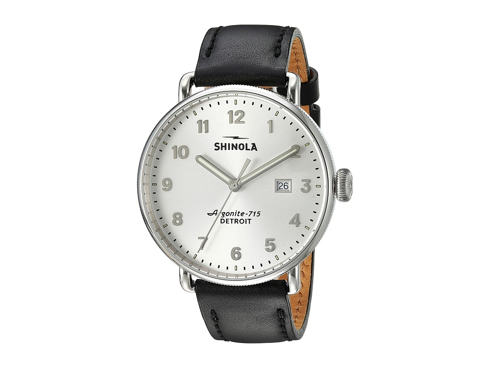 Shinola Detroit - The Canfield 43mm - S20089881 (Gray) Watches