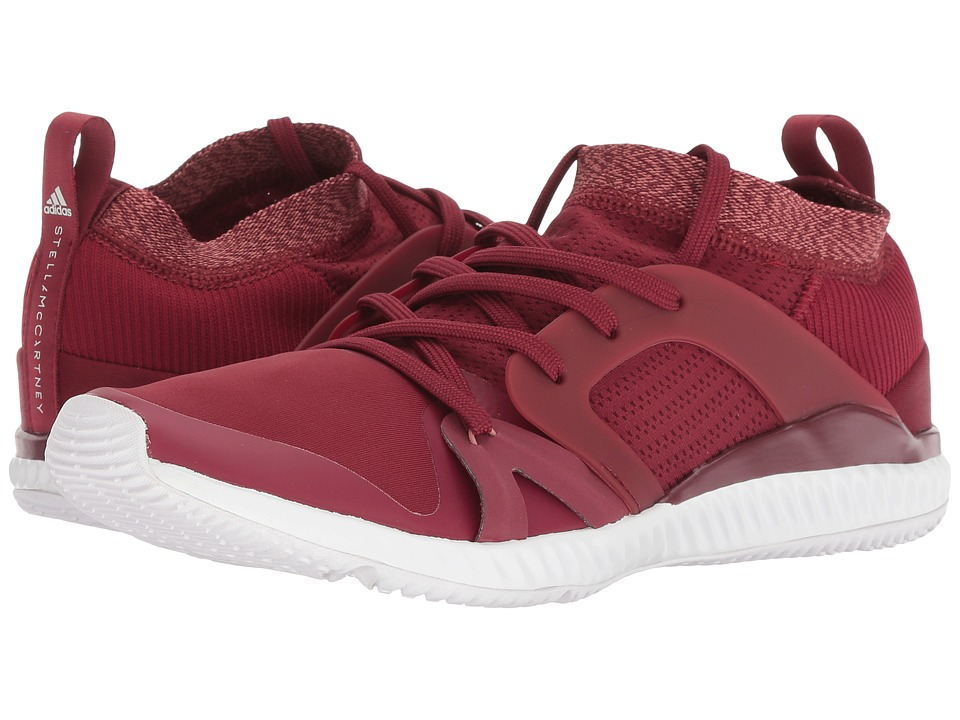 adidas by Stella McCartney CrazyTrain Pro (Noble Maroon/Raw Pink/Footwear White) Women's Shoes