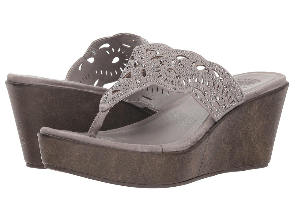 Yellow Box Kristabelle (Gray) Sandals