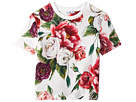 Dolce & Gabbana Kids Peonie T-Shirt (Toddler/Little Kids)