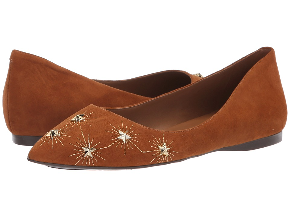French Sole Cunning Flat (Cuoio Suede) Women's Shoes