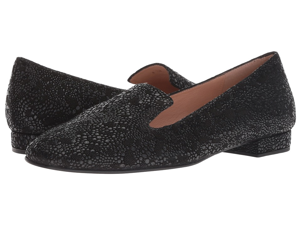 French Sole Celeste Flat (Black Cuarzo) Women's Shoes